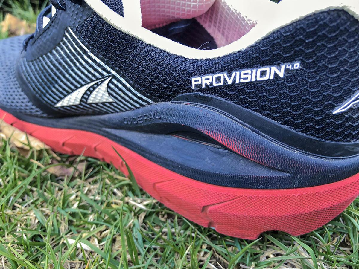 Altra Provision 4.0 - Closeup Medial Side