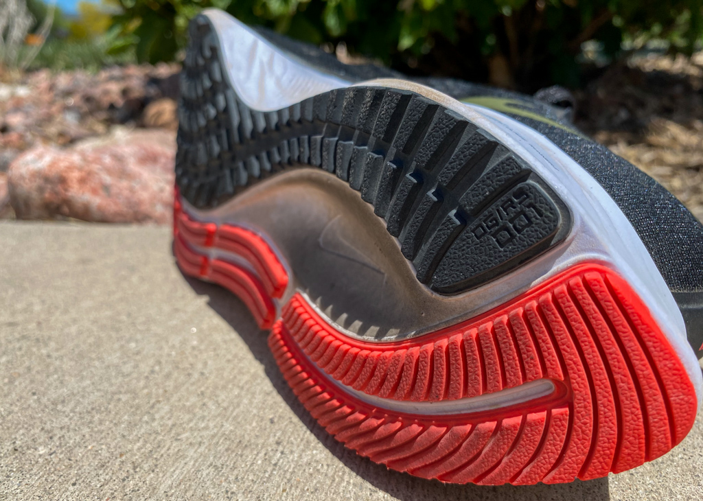 Nike Zoom Pegasus 37 - outsole side view