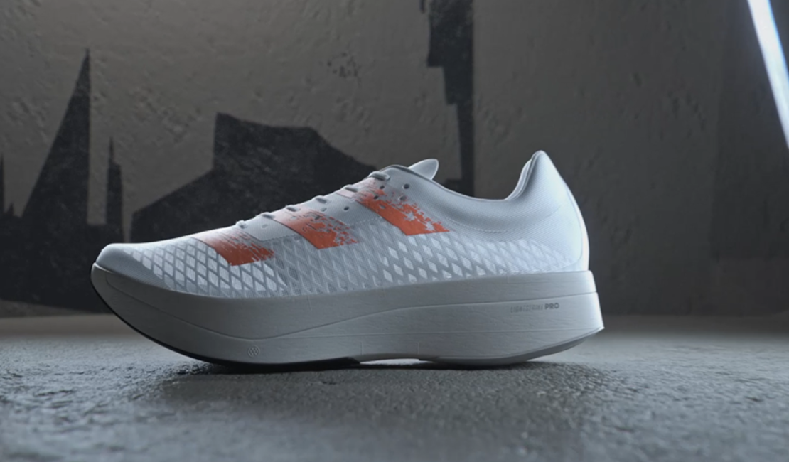 A First Look at the New Super Shoe From Adidas, the Adizero Adios Pro