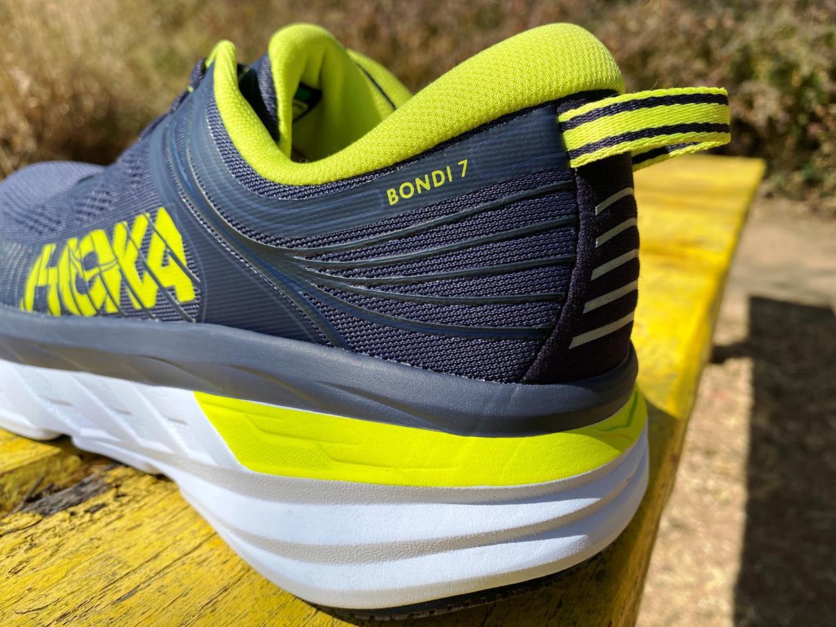 Hoka One One Bondi 7 - Heel-Closeup