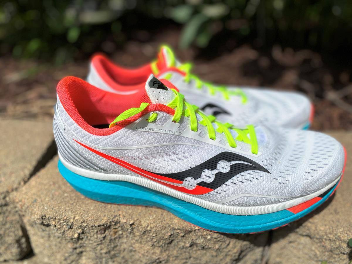 Saucony Endorphin Speed - Lateral Side