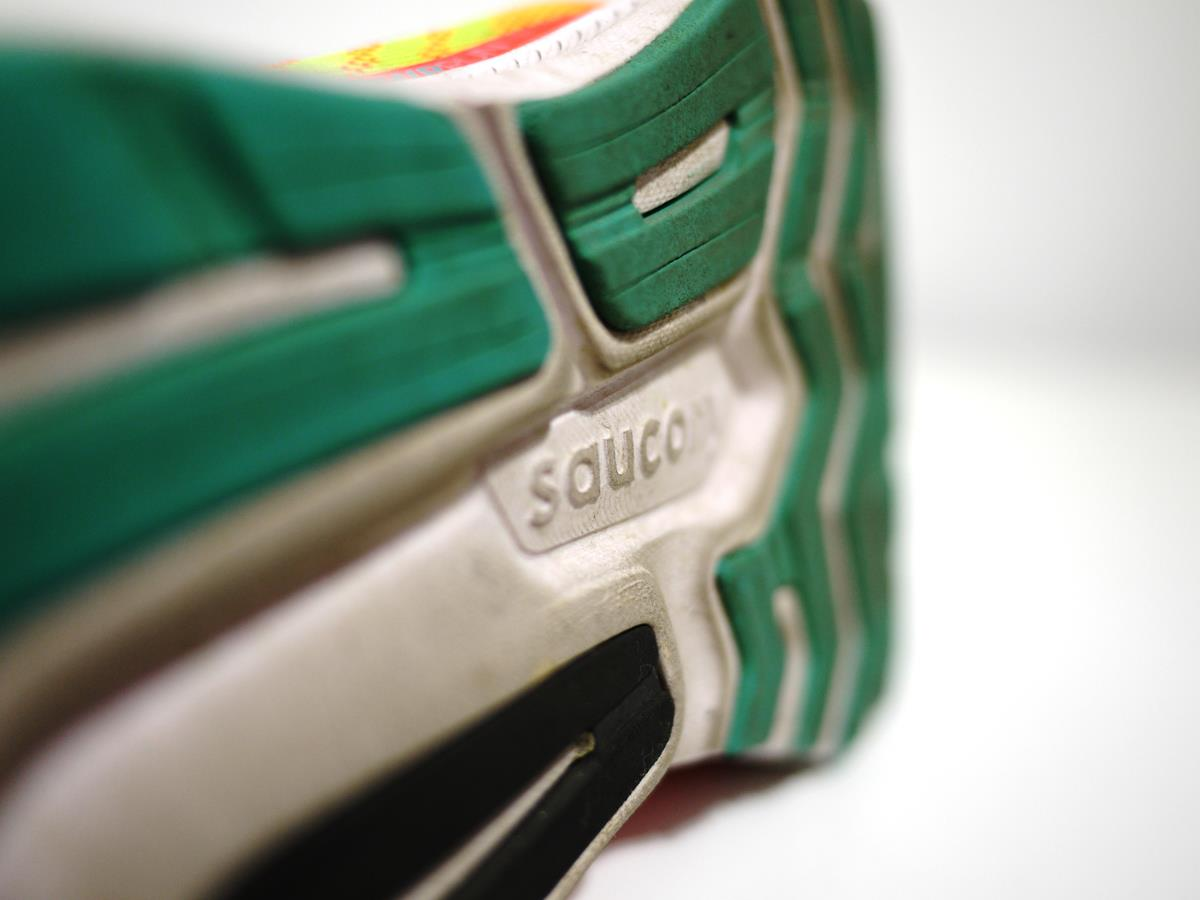 Saucony Ride 13 - Closeup