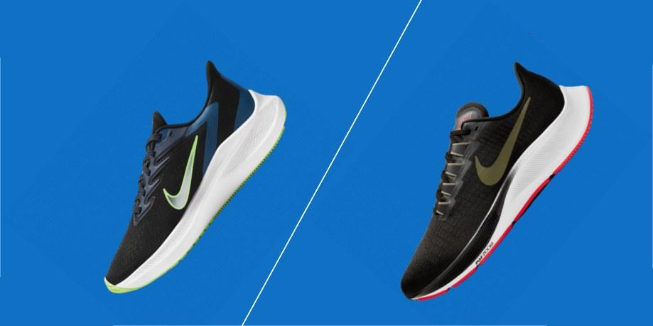 aislamiento Espolvorear Descriptivo  Nike Winflo vs Nike Pegasus | Running Shoes Guru
