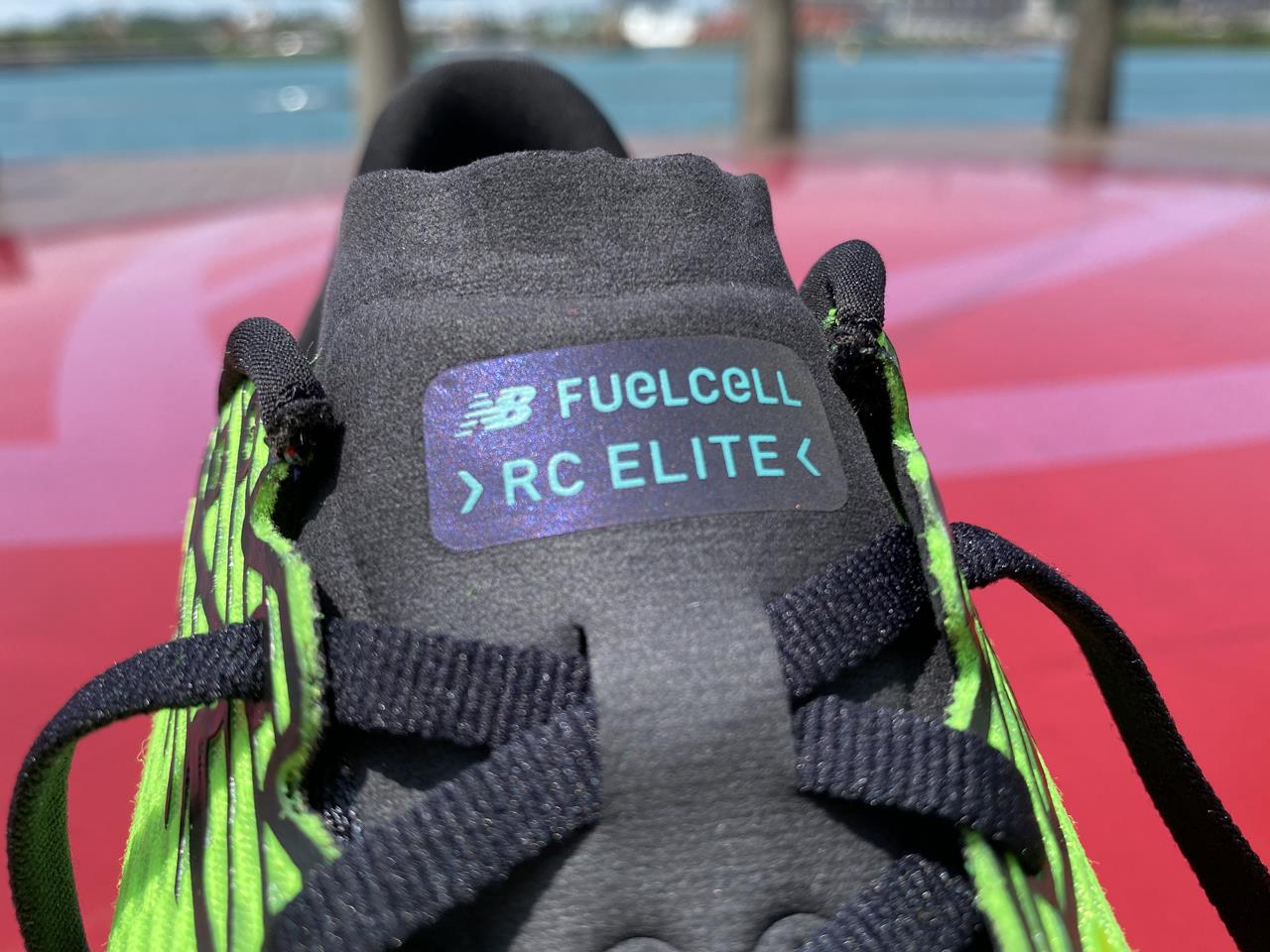 New Balance FuelCell RC Elite - Closeup