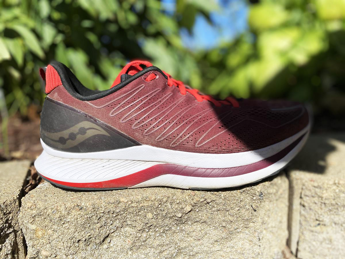 Saucony Endorphin Shift - Lateral Side
