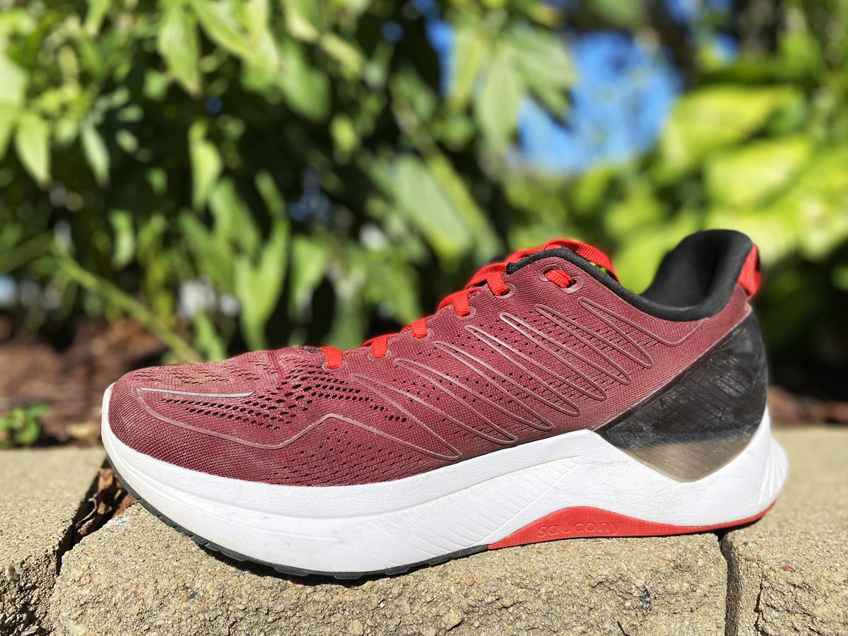 Saucony Endorphin Shift - Medial Side