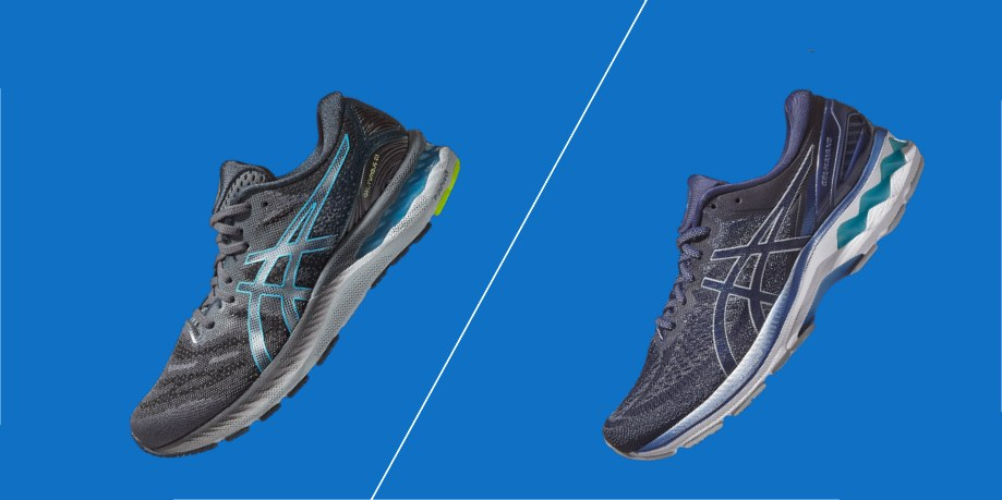 Asics Nimbus vs Asics Kayano - Detailed Comparison   Running Shoes ...