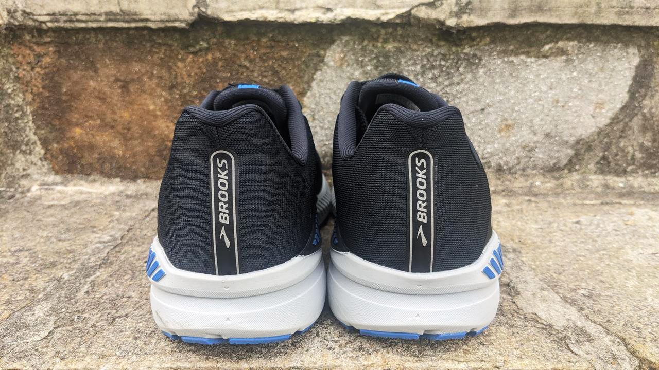 Brooks Launch GTS 8 - Heel