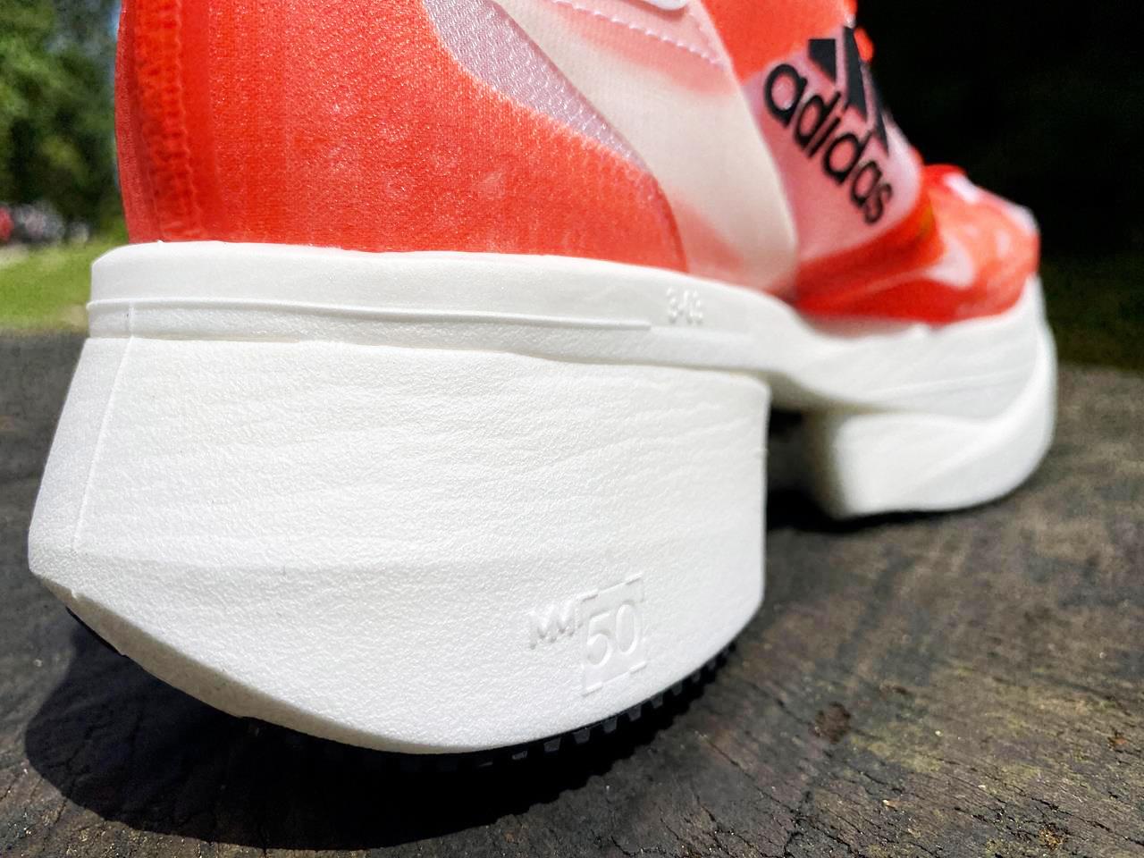 Adidas Prime X - Heel Closeup