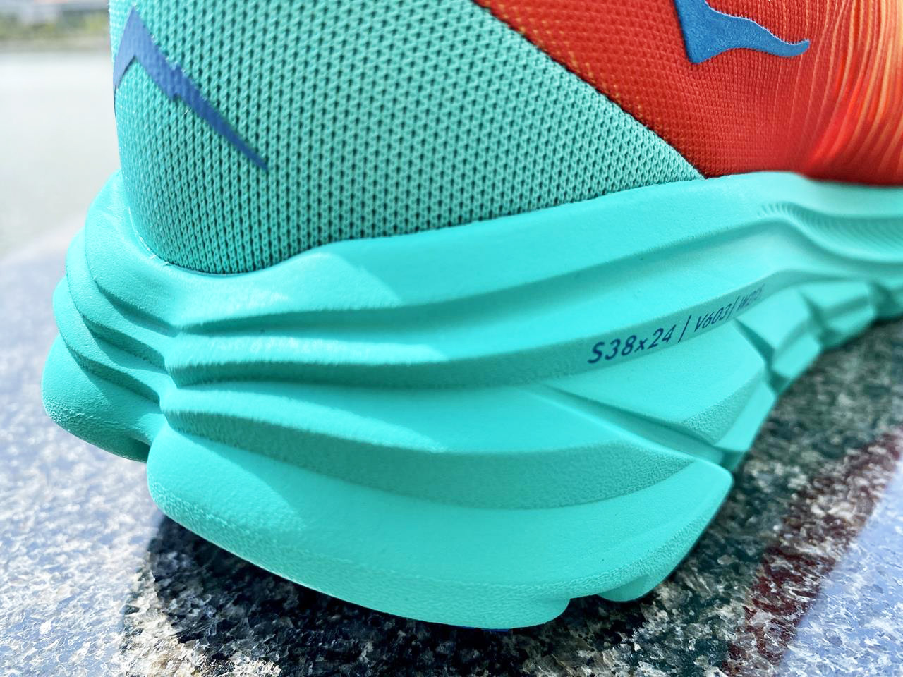 Hoka One One Rincon 3 - Heel Closeup