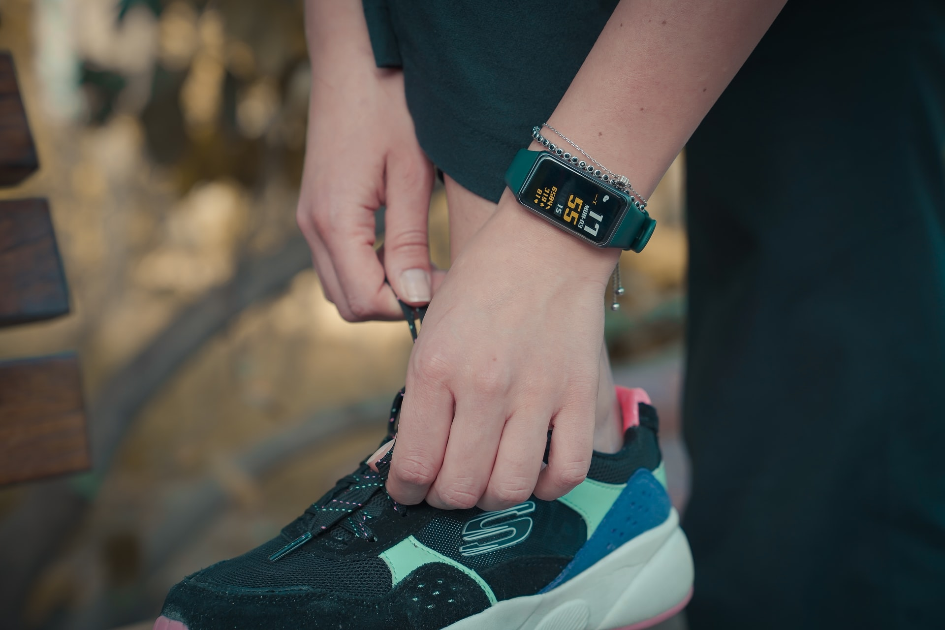 Fitness watch for running