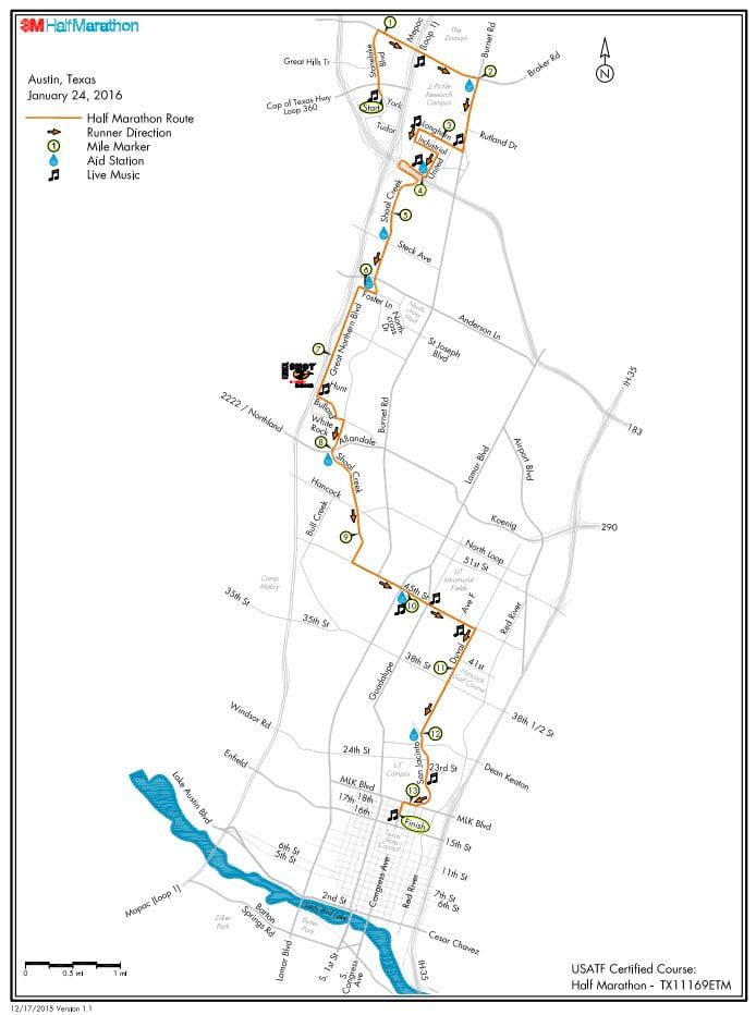 3M half marathon route