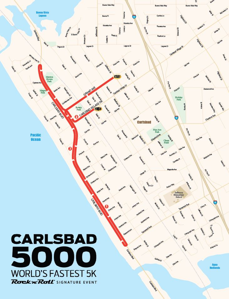 Carlsbad5000 route