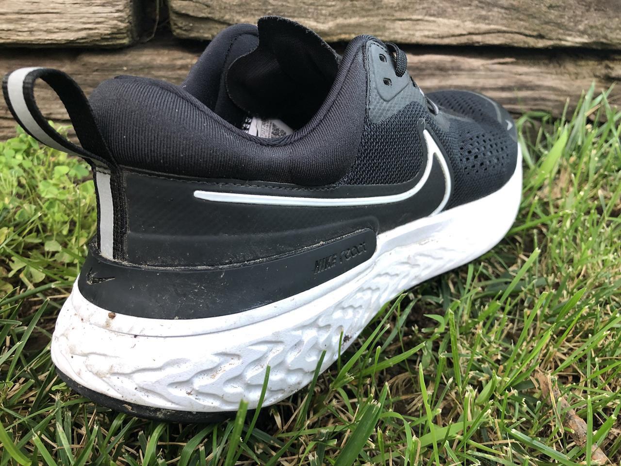 Nike React Miler 2 - Heel Closeup