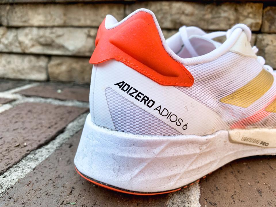 picture of adidas adizero adios 6 - copyright Running Shoes Guru
