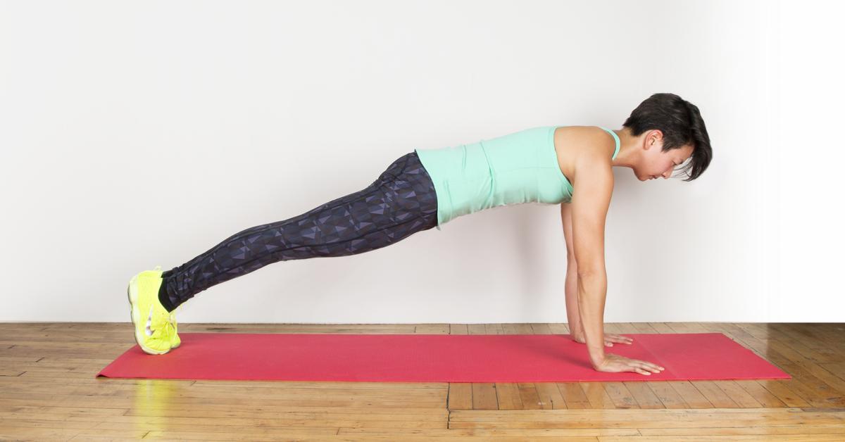 Beginner plank