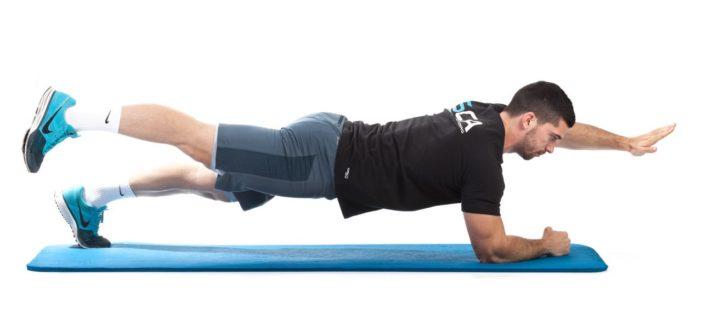 Advanced PLANK exercise