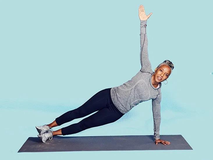 Basicside plank setup exercise