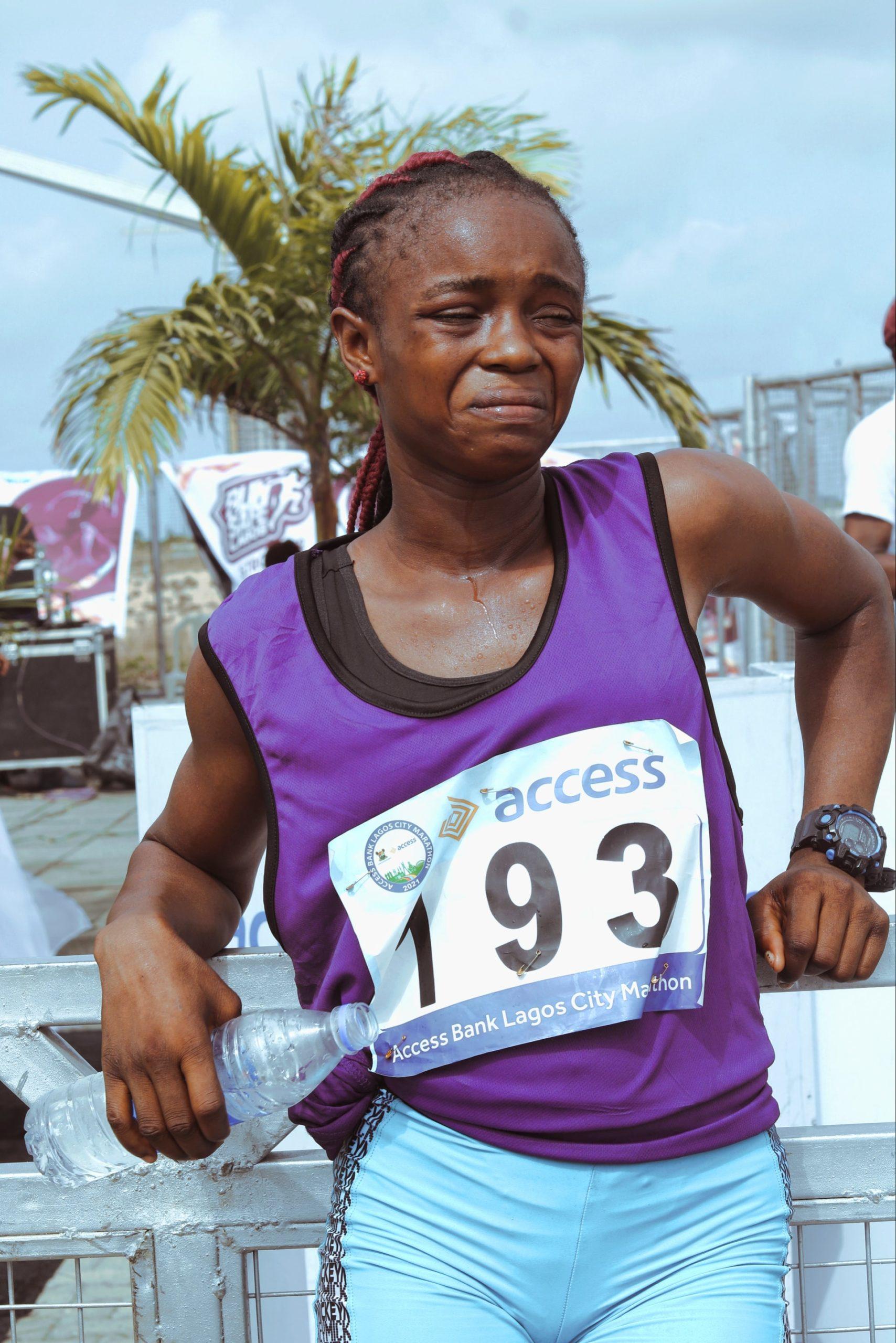 Runner put due to injury