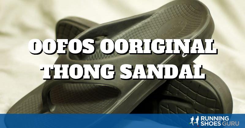 OOFOS OOriginal Thong Sandal | Running Shoes Guru