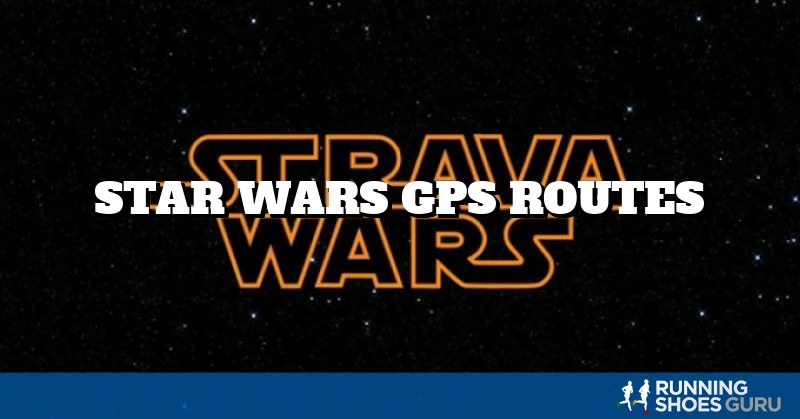 Star Wars GPS Routes | Running Shoes Guru