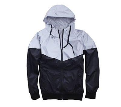 Men's Outerwear 3M Reflective Running Jacket