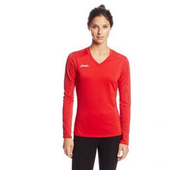 ASICS Women's Roll Shot Jersey Exercise & Fitness Top