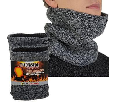 2 Pack Thermal Fleece Lined Neck Warmers
